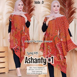 Batik Paris Premium Ashanty kode D