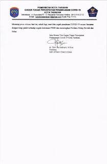 Press Release COVID-19 Tarakan 22 Mei 2020 - Tarakan Info