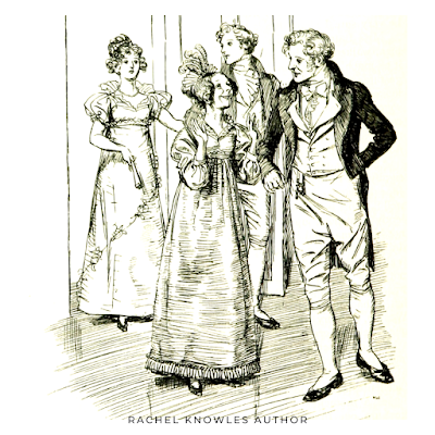 Illustration by Hugh Thomson from Emma by Jane Austen (1896 edition)
