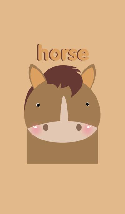 Simple Horse theme