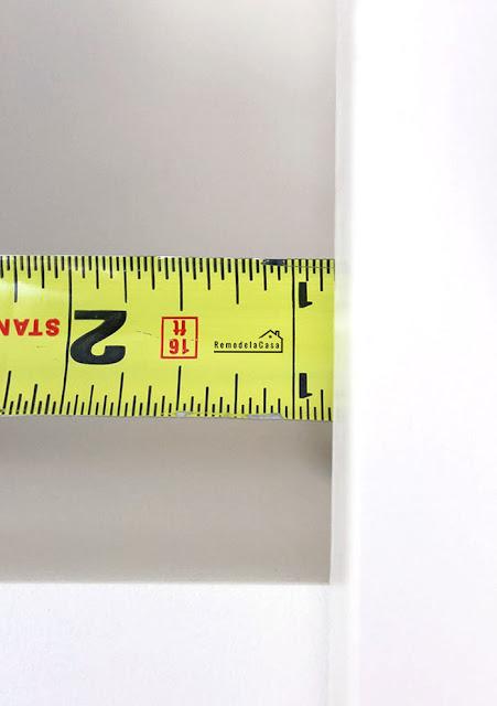 Kitchen organization - measuring cabinet