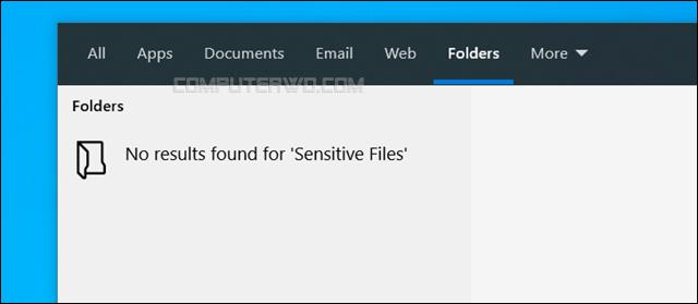 إخفاء ملفات أو مجلدات محددة من نتائج البحث في ويندوز 10 hide-files-from-windows-search Annotation%2B2020-03-15%2B202807