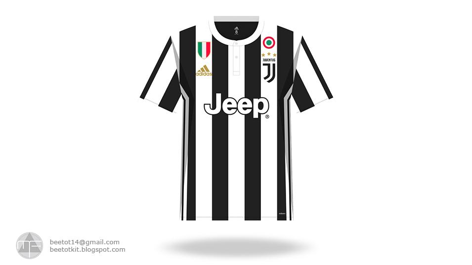 best cheap 6bb5c b2f91 Beetot Kit: Juventus Kit 1718