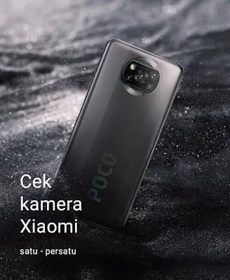 cara cek kamera Xiaomi terbaru
