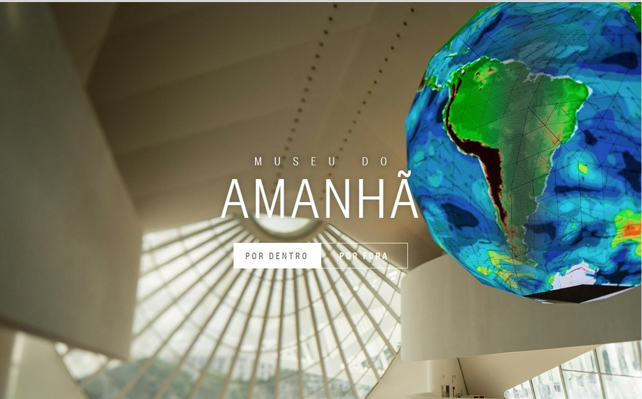 Visita virtual ao Museu do Amanhã