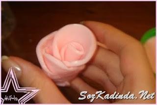 sabundan gül yapımı