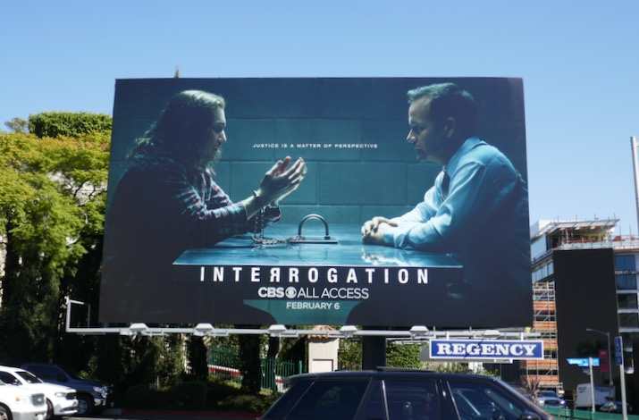Interrogation season 1 billboard