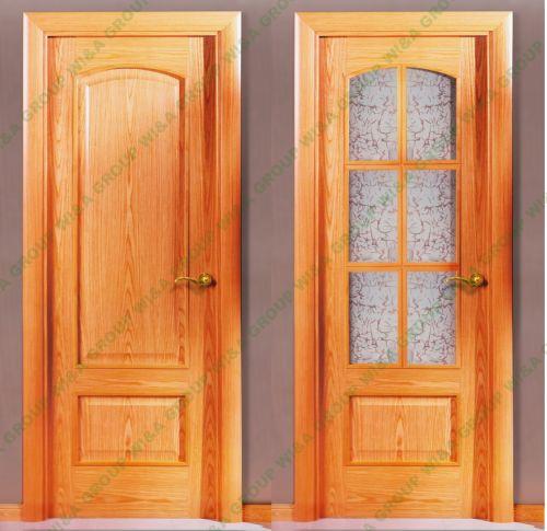 Puertas interiores baratas for Puertas de madera para interiores baratas