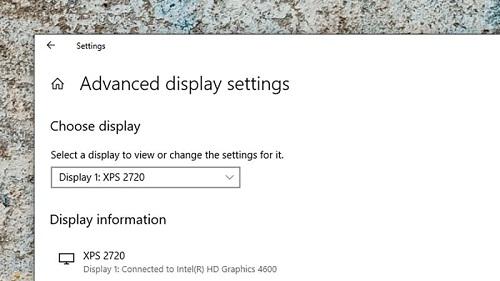 عرض شاشة الكمبيوتر على شاشة التلفزيون