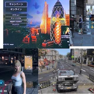 ウォッチドッグスレギオン PS4 の画面