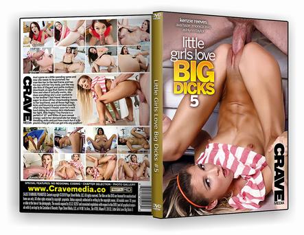 DVD Little Girls Love Big Dicks 5 xxx 2019 - ISO