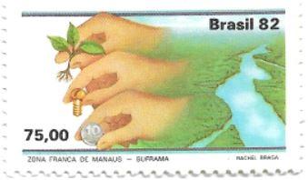 Selo Zona Franca de Manaus