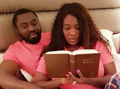 mercy johnson husband bedroom photo