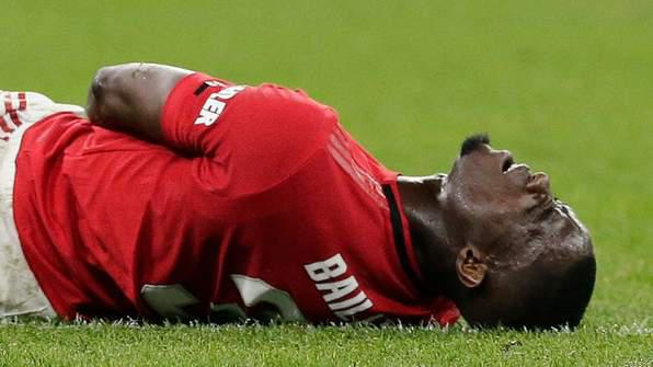 Eric Bailly Ruled Out for 4 - 5Months