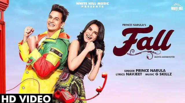 Prince Narula Song Fall Lyrics | Latest Punjabi Songs 2020