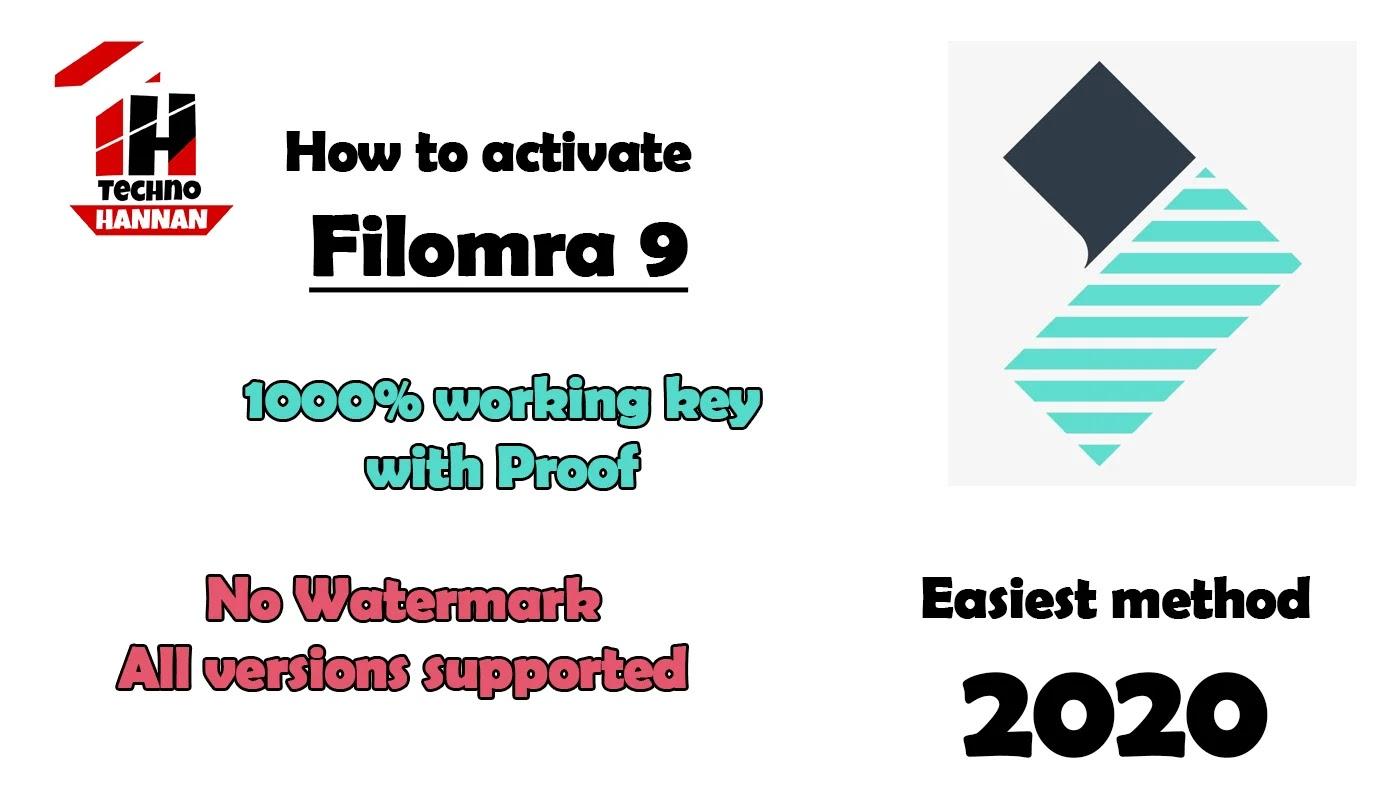 How to activate wondershare filmora free -100% working