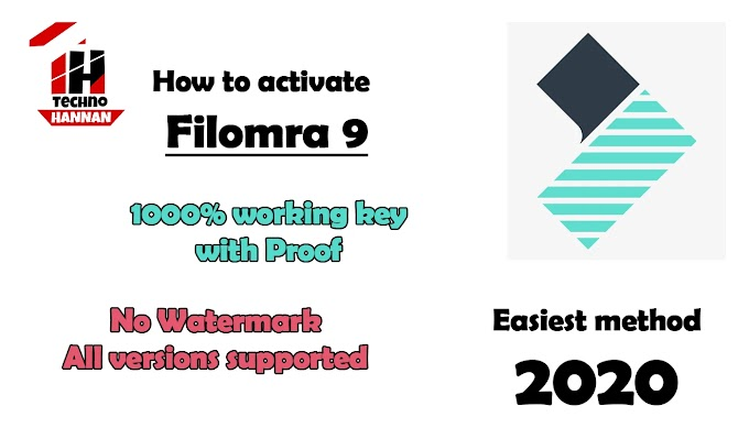 How to activate wondershare filmora free -100% working