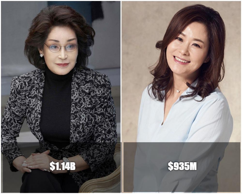 The 5 Richest South Korean Women 2020