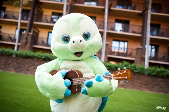 Olu Mel 現身 Aulani A Disney Resort & Spa