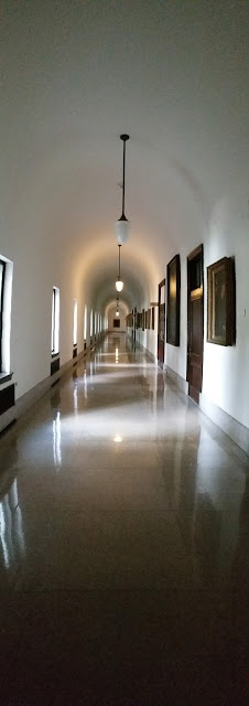 HALLWAY AT ST. CHARLES SEMINARY