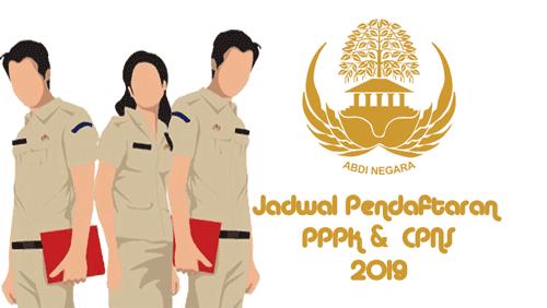 penerimaan pppk agustus dan cpns oktober 2019