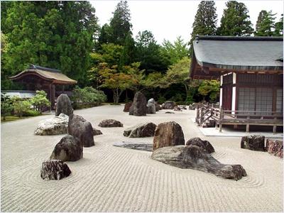 สวนเซน (Zen Garden)