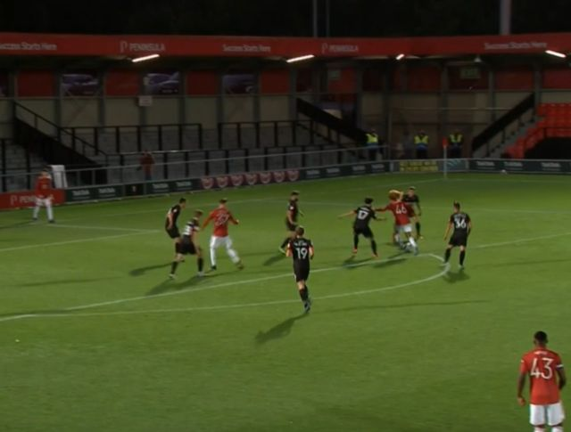 Video: Man United starlet Hannibal Mejbri shows great composure and skill to score vs Salford