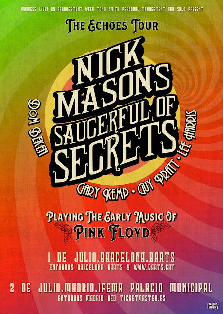 Agenda de giras, conciertos y festivales - Página 2 Nickmason