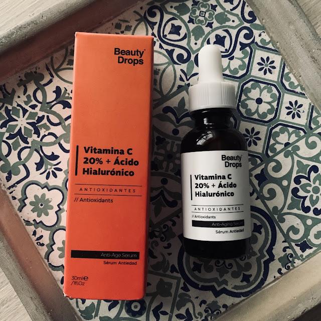 sérum beauty drops vitamina C al 20%