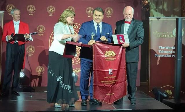 Δήμαρχος Άργους Μυκηνων Δ. Καμπόσος παρελαβε στις Κάννες το βραβείο Excellence in City Management