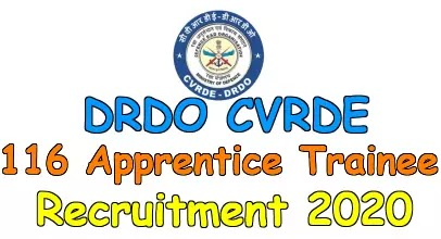 DRDO ITI Apprentice Trainee Recruitment 2020