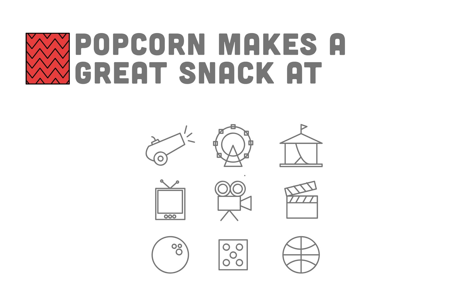 Simple Diagram Of Popcorn - ( Simple Electronic Circuits ) •