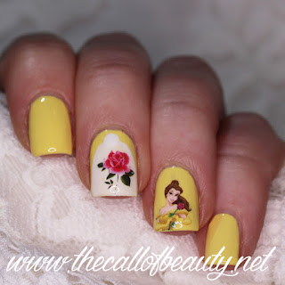 Beauty and the Beast Manicure