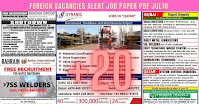 Foreign Vacancies Alert Job Paper PDF Jul10