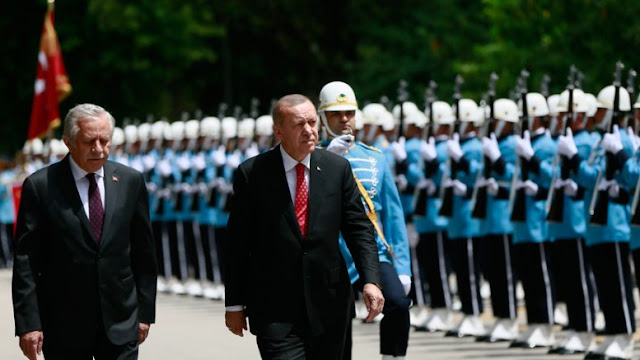 Ο ισλαμικός στρατός του Ερντογάν