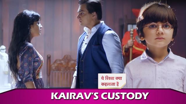 Future Story :Not Naira but Kartik files for Kairav's custody case in Yeh Rishta Kya Kehlata Hai