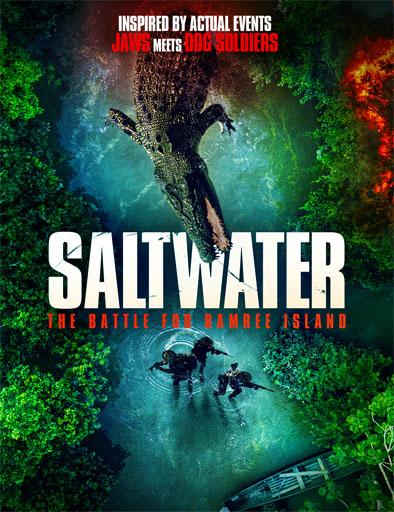 Pelicula Saltwater: La batalla por la Isla Ramree