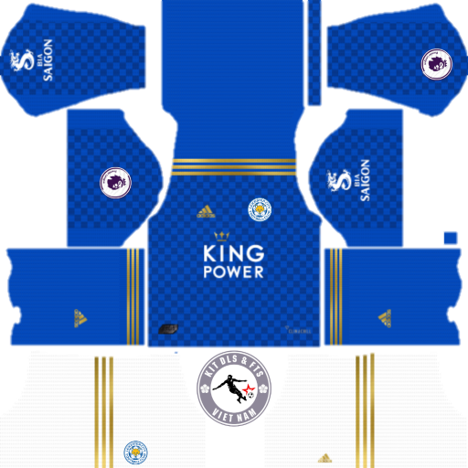 Kits Leicester City 2019 - 2020 Dream League Soccer 2019 & First Touch Soccer