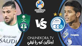 مشاهدة مباراة الأهلي السعودي واستقلال طهران القادمة بث مباشر اليوم 27-04-2021 في دوري أبطال آسيا