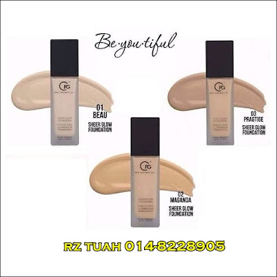 cpg sheer glow foundation