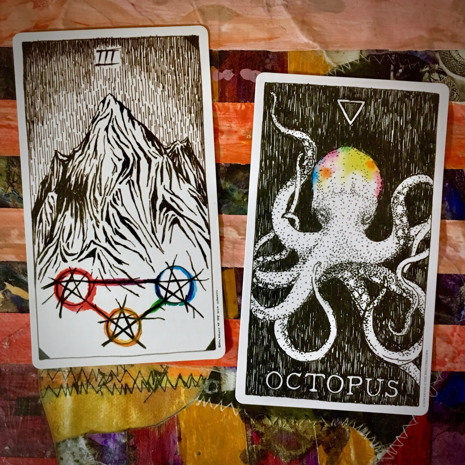 The Writing and Art of Andrew Thornton: Three of Pentacles