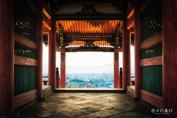 vue sur kyoto, Kiyomizu-dera