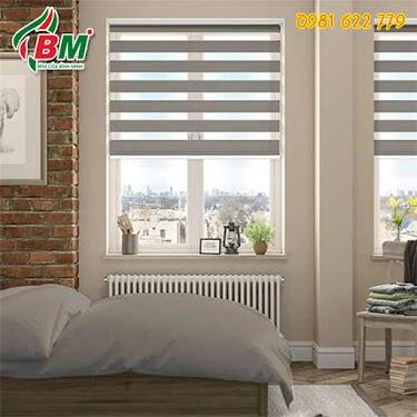 Rèm cầu vồng cho cửa sổ phòng ngủ sang trọng tại bình phước