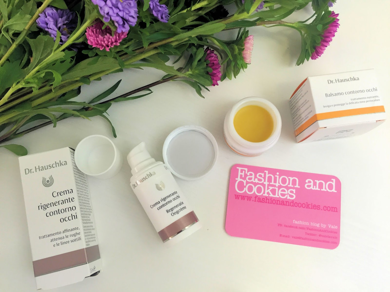 Dr Hauschka Crema rigenerante contorno occhi e balsamo occhi su Fashion and Cookies beauty blog, beauty blogger