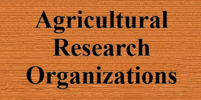 International Organizations of Agricultural Research