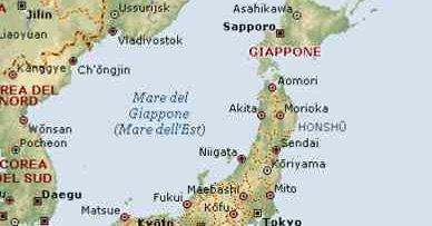 Cartina Del Giappone Politica.Giappone Cartina Fisica E Politica