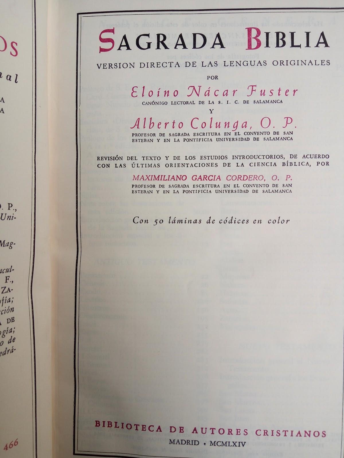 Biblia Nacar Colunga Comentada Pdf Download