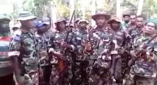 Ramai, Batalion Sepik Separatis yang di buru Pemerintah PNG Defense Force