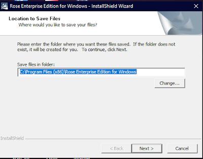 Rose Enterprise Edition for Windows