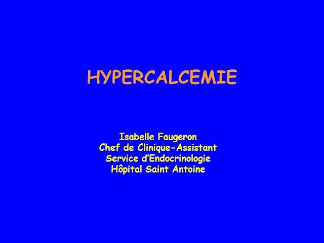 HYPERCALCEMIE .pdf